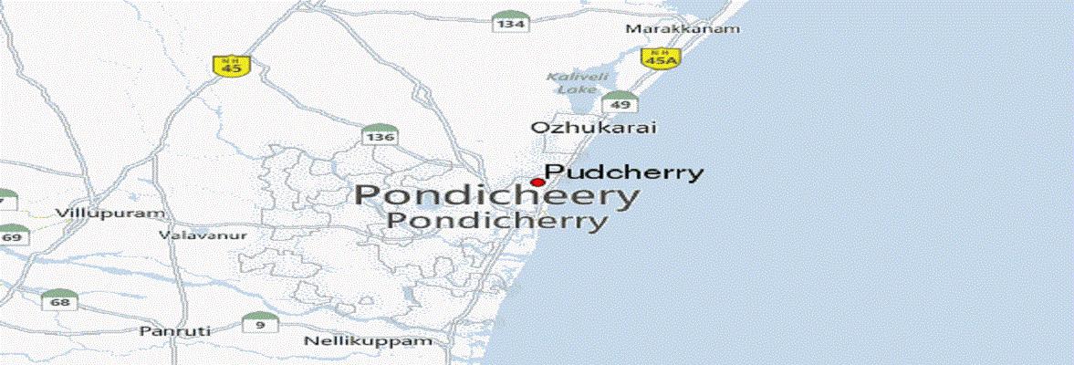 File RTI Online In Ranchi Pondicherry RTI Application Form - Pondicherry map